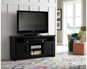 "58"" Black TV Stand"