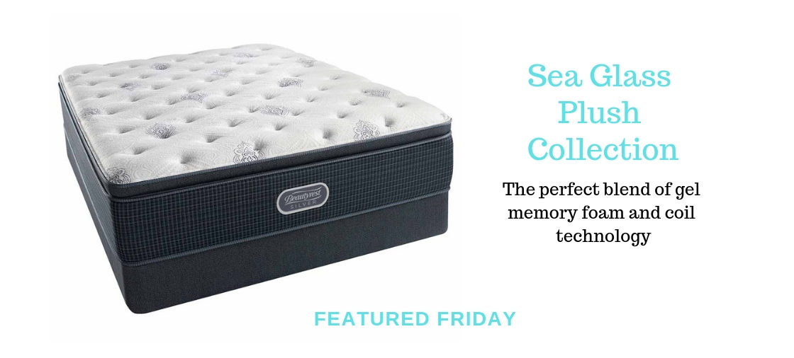 Slumber on the Sea Glass Plush Mattress