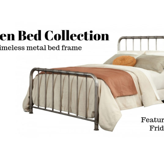 Classic Bedrooms Call for a Metal Bed Frame