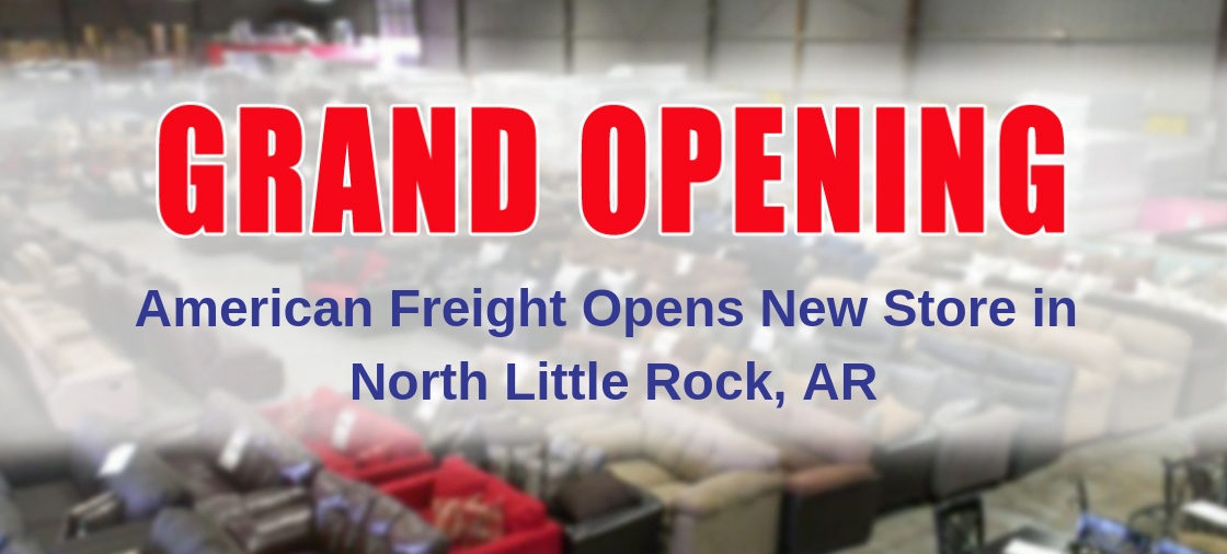 American Freight Opens Second Store in Little Rock