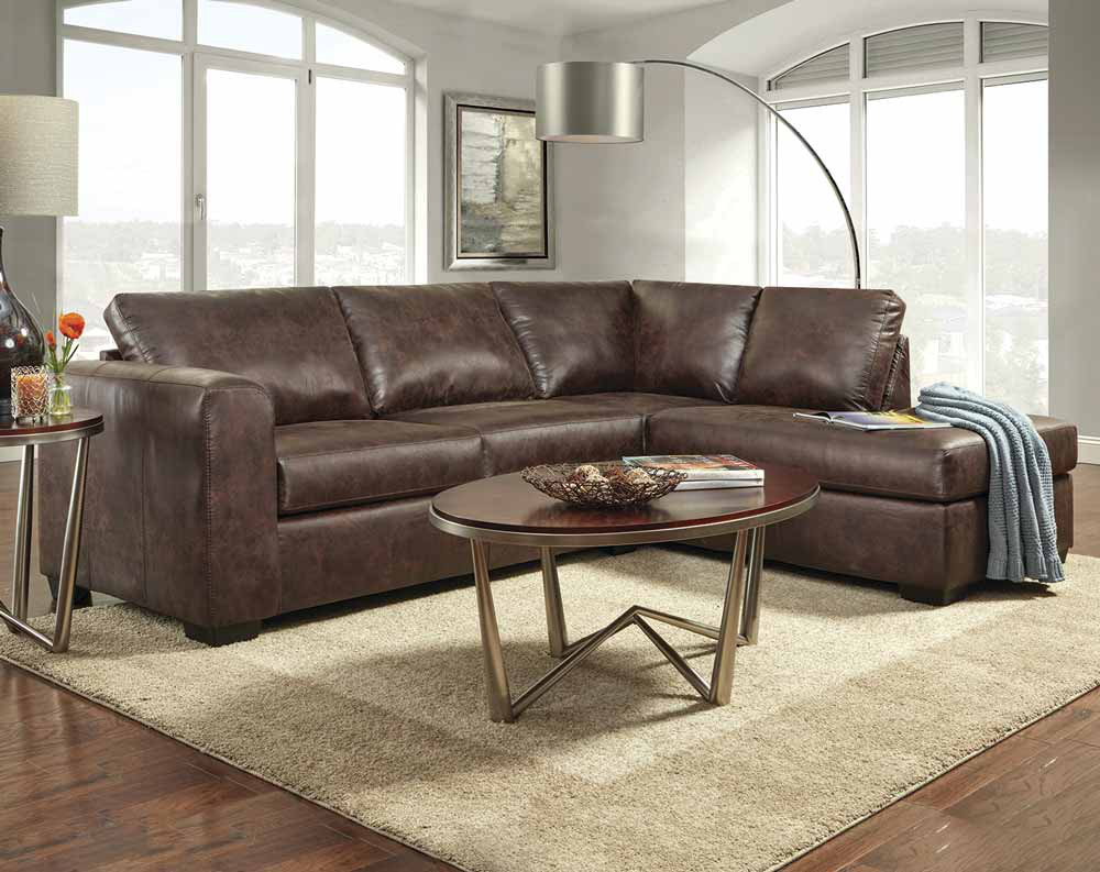 Yuma Brown 2 PC Sectional