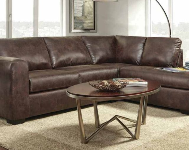The Top Modern Faux Leather Sectional Under $700 | American ...