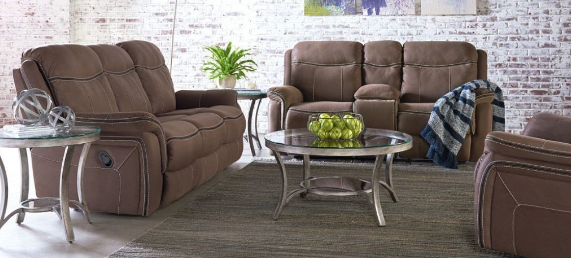 This Sofa and Loveseat Set is a Living Room Champion
