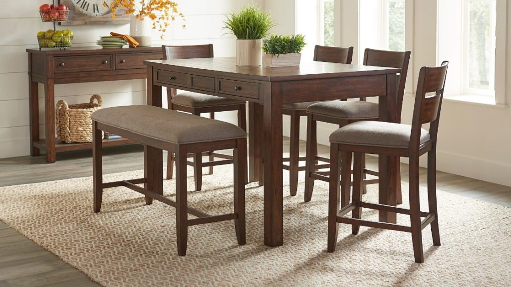 The Leading Counter Height Dining Table Set