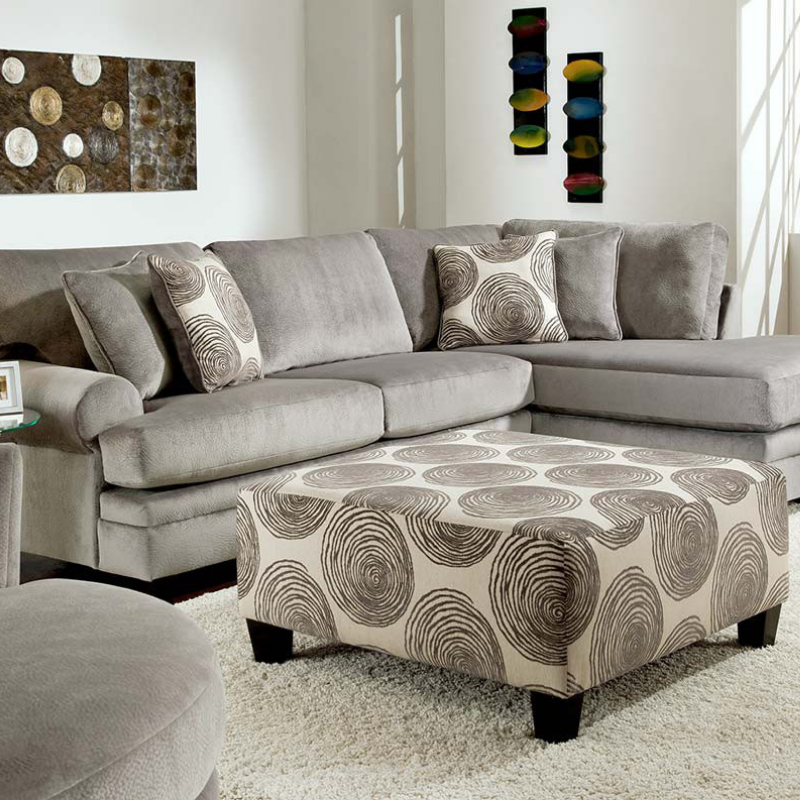 Groovy Smoke Sectional Collection New Furniture