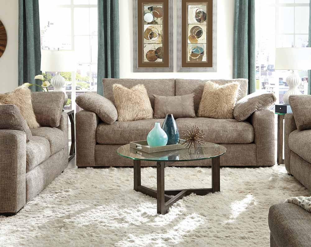 Nova Stone Sofa and Loveseat