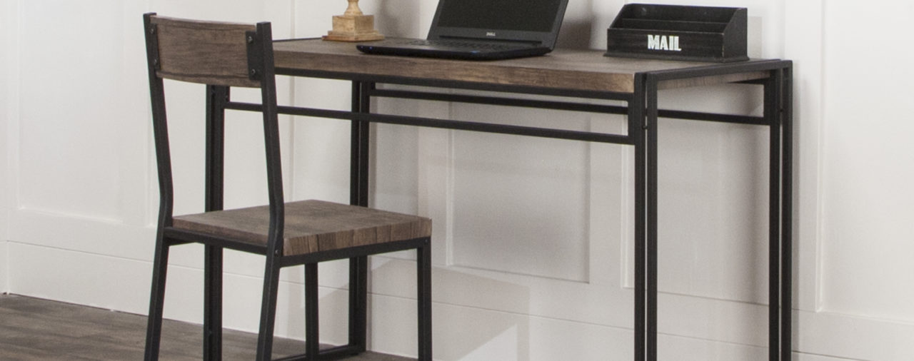 This Desk in a Box is Stylish and Functional