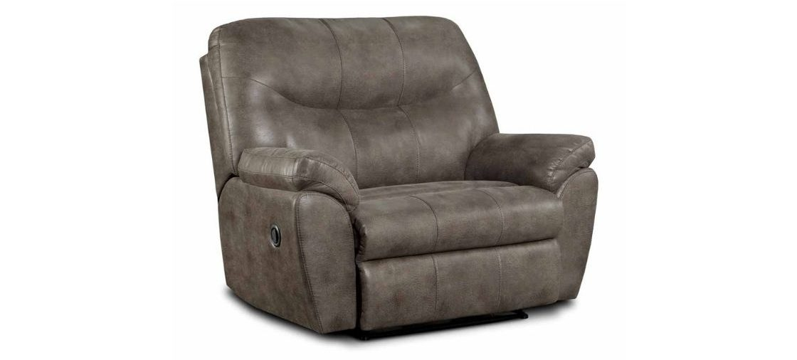 This Extra-Large Recliner is Extra Comfy