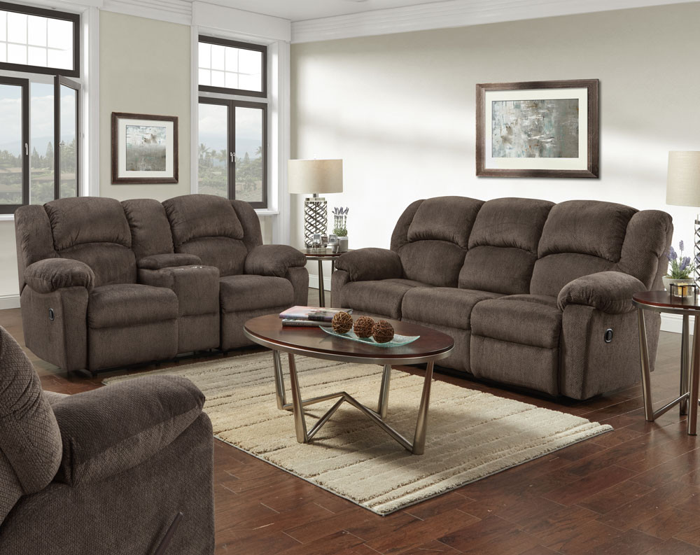 Kelly Chocolate Sofa and Loveseat Collection