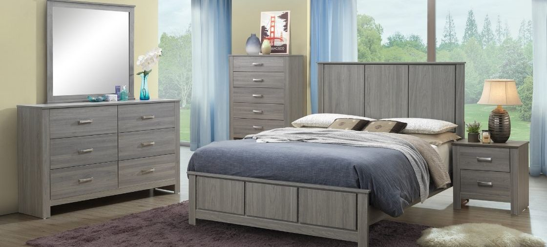Upgrade to a Sleek Grey Bedroom Collection