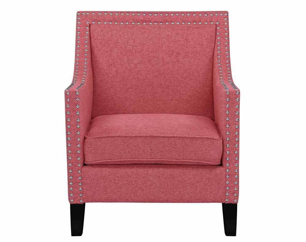 Hailey Chair- Hailey Accent Chair Coral