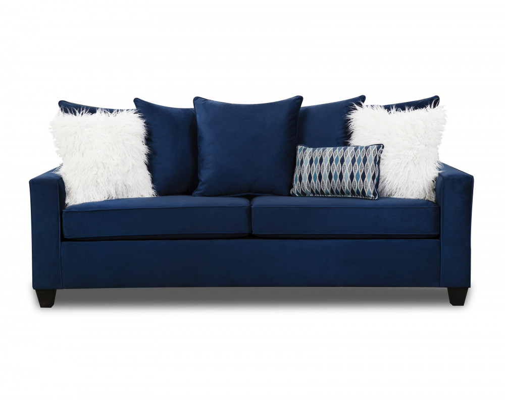 Indigo Blue Sofa