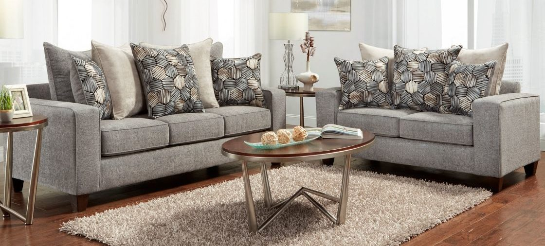 Add the Sparkle Graphite Set to Your Glam Living Room