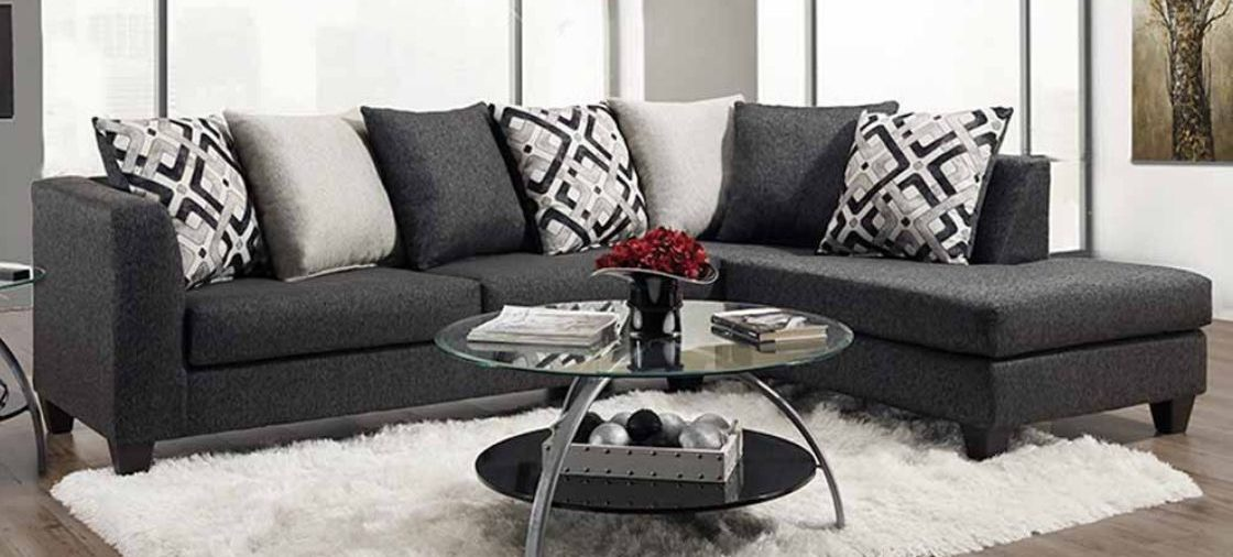 The Grey Sectional at the Top of Our Must-Have List