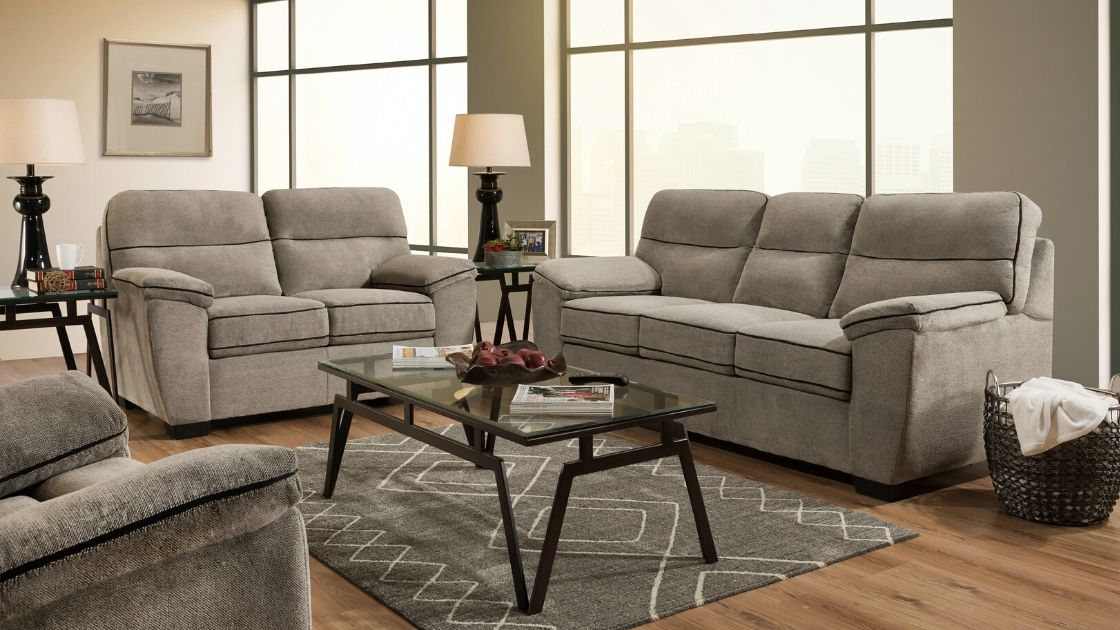 Domain Dover Sofa and Loveseat