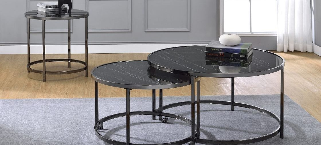 This Black Modern Coffee Table Will Amaze