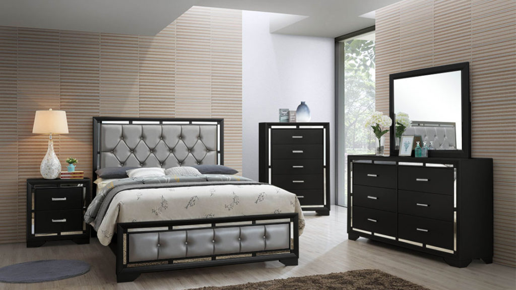 Lorenzo Bling Bedroom Set