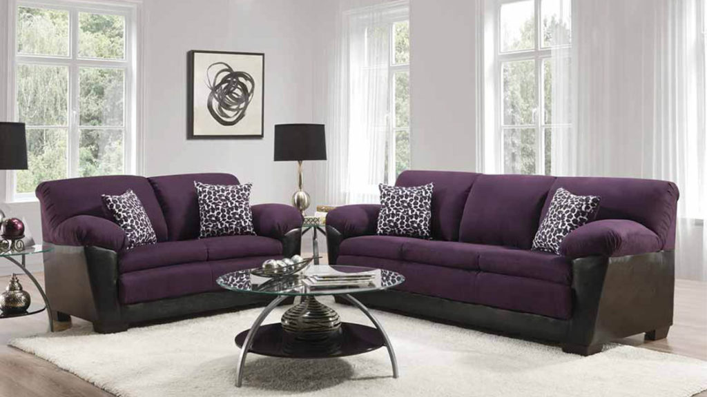 The Purple Sofa We Can't Stop Talking About